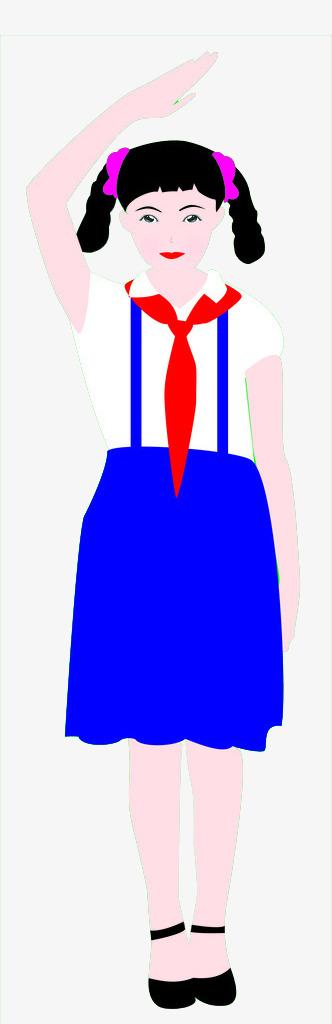 图片 > 【png】 少先队学员  分类:手绘动漫 类目:其他 格式:png 体积