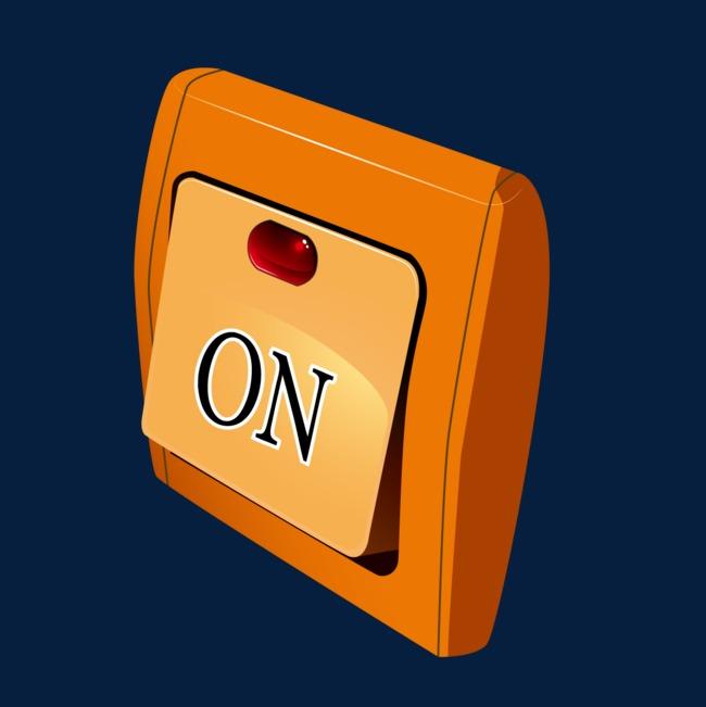 卡通开关灯按钮png素材-90设计图片