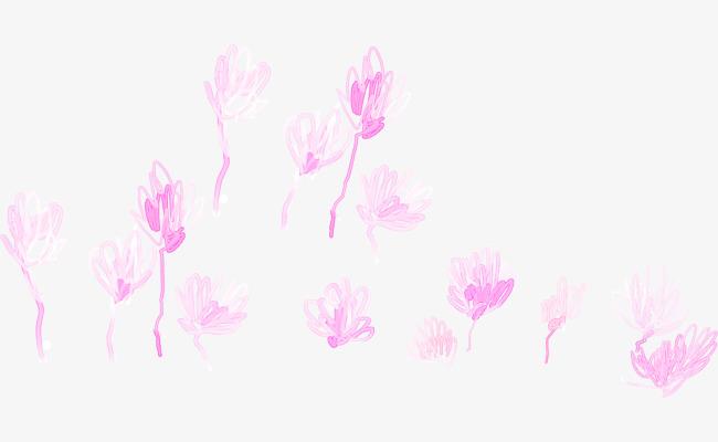 唯美创意手绘小花