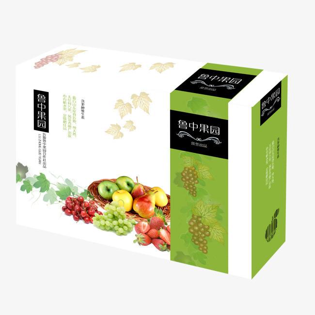 水果礼盒素材图片