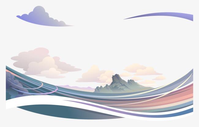 圖片 > 【png】 風景大海png免費素材矢量  分類:裝飾元素 類目:其他
