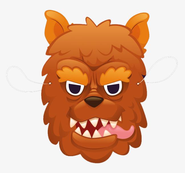 动物卡通面具