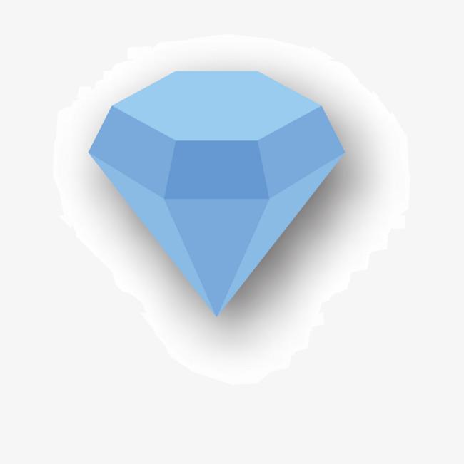 矢量钻石【高清装饰元素png素材】-90设计