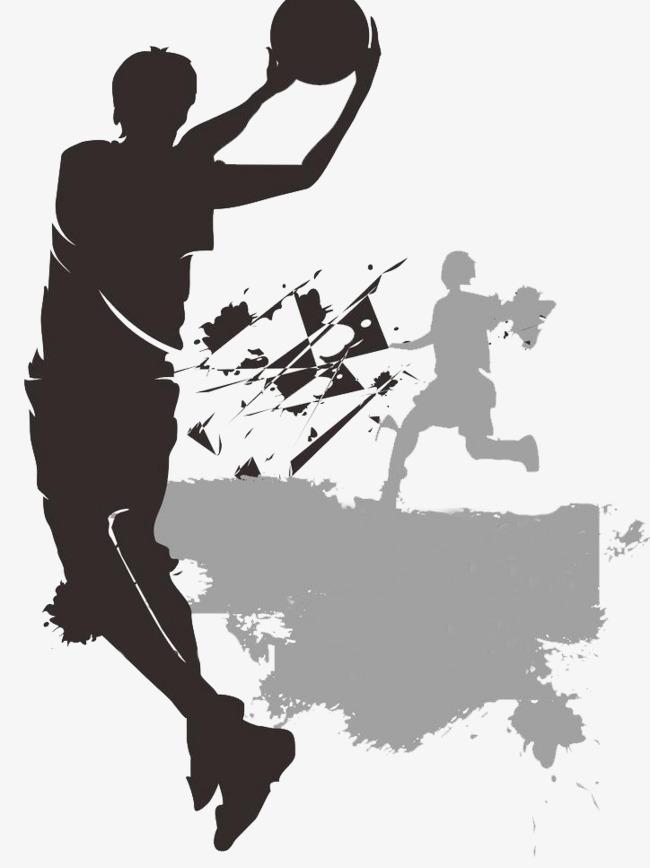 篮球赛海报图片素材