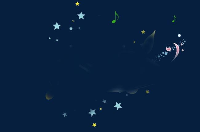 点击右侧免费下载按钮可进行 星星音乐符号png图片素材高速下载.图片