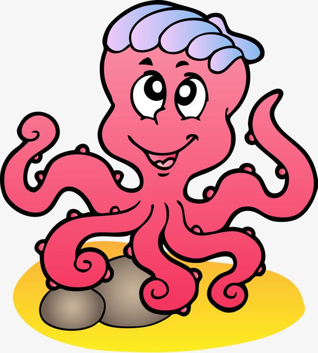 图片 > 【png】 矢量章鱼  分类:手绘动漫 类目:其他 格式:png 体积