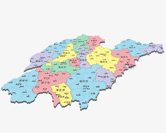 山东省地图