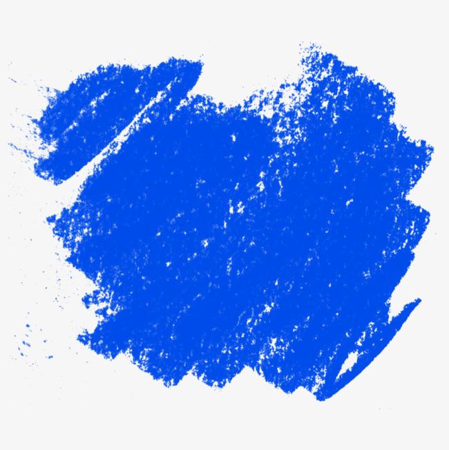 蓝色粉笔纹理免抠图案png素材-90设计