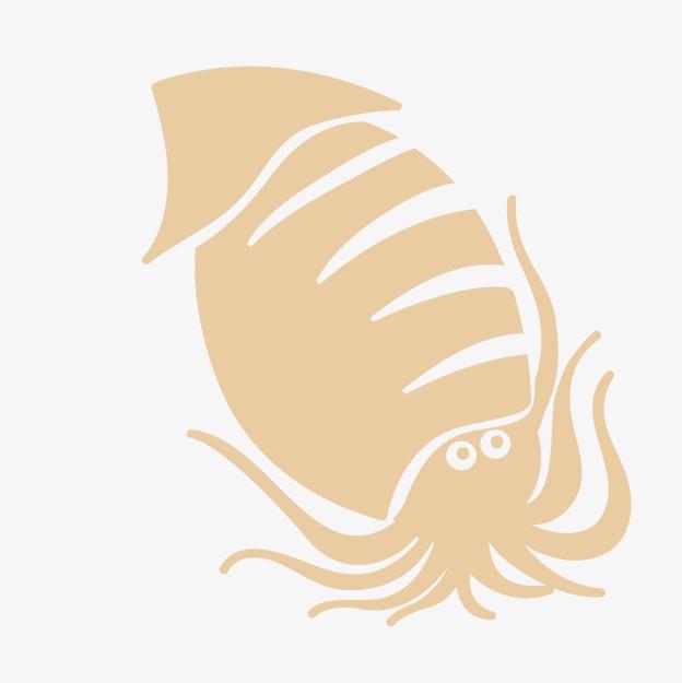 卡通手绘章鱼