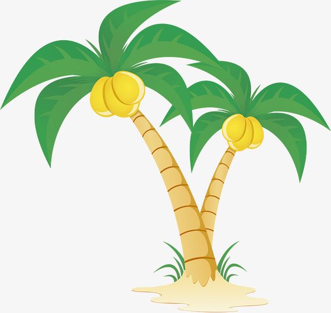 椰子树png矢量素材