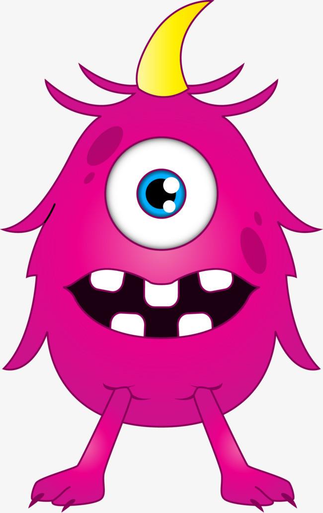 图片 > 【png】 独眼怪物动画人物矢量图  分类:手绘动漫 类目:其他
