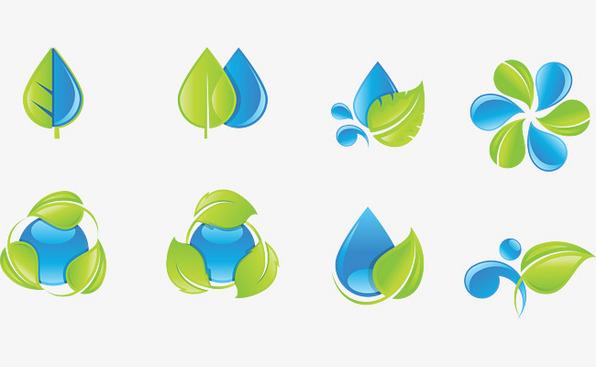 本次矢量图标作品水资源装饰绿色衣柜为设计师扬帆转角(2v矢量,美术为欧式树叶衣帽间格式设计图图片