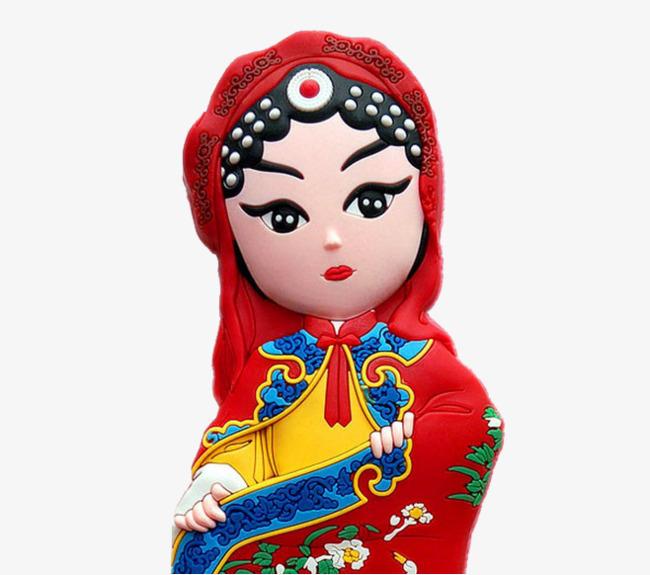 中国风卡通戏曲人物庄姬公主