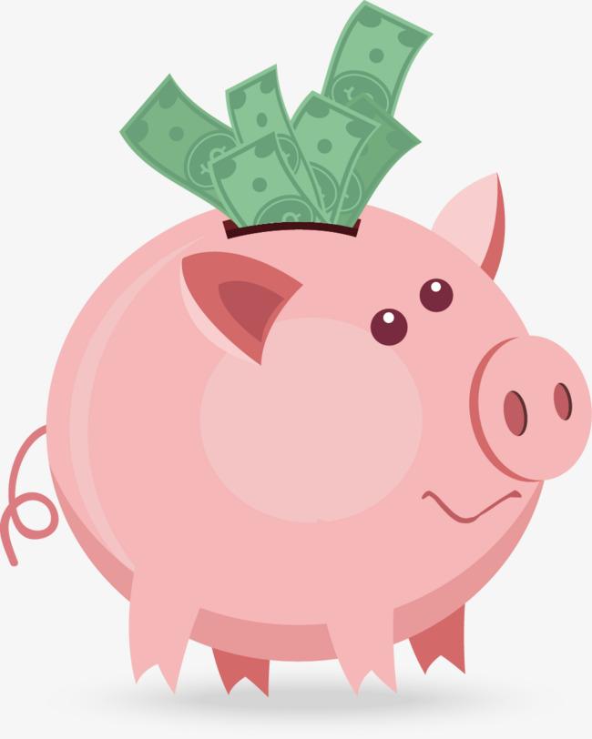图片 存钱罐海报 > 【png】 小猪存钱罐  分类:手绘动漫 类目:其他