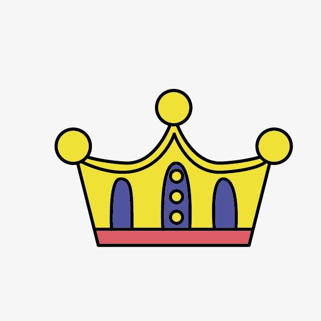 卡通手绘王冠