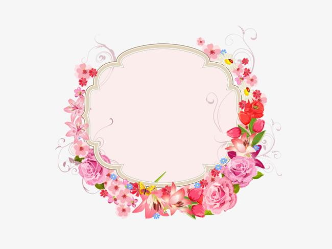 化妆品鲜花背景素材