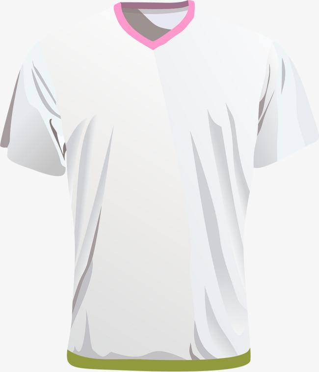 矢量手绘t恤衫