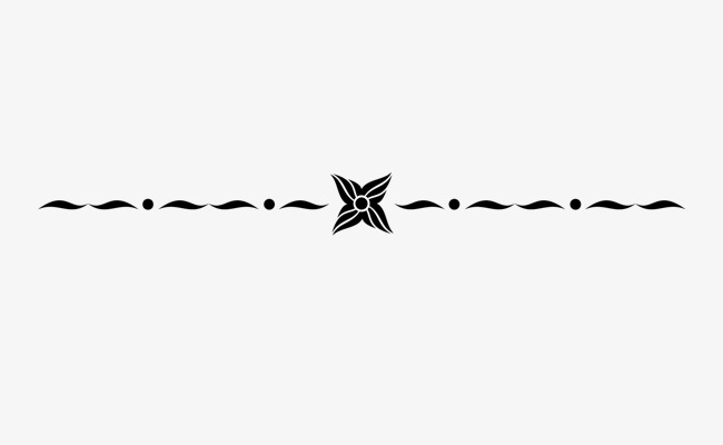 欧式花纹装饰分割线矢量素材
