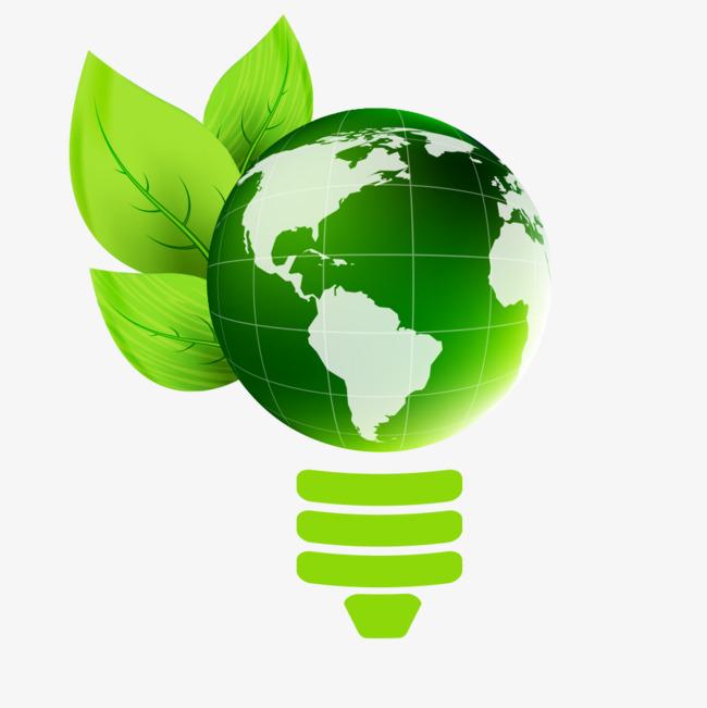 绿色地球环保矢量