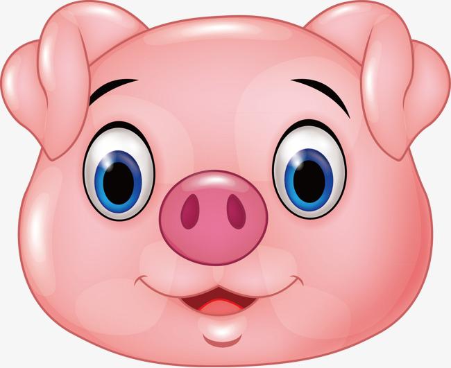 动物 矢量 素材 粉色 吃猪头             此素材是90设计网官方设计
