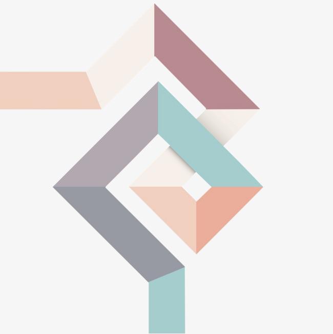 抽象菱形图片素材
