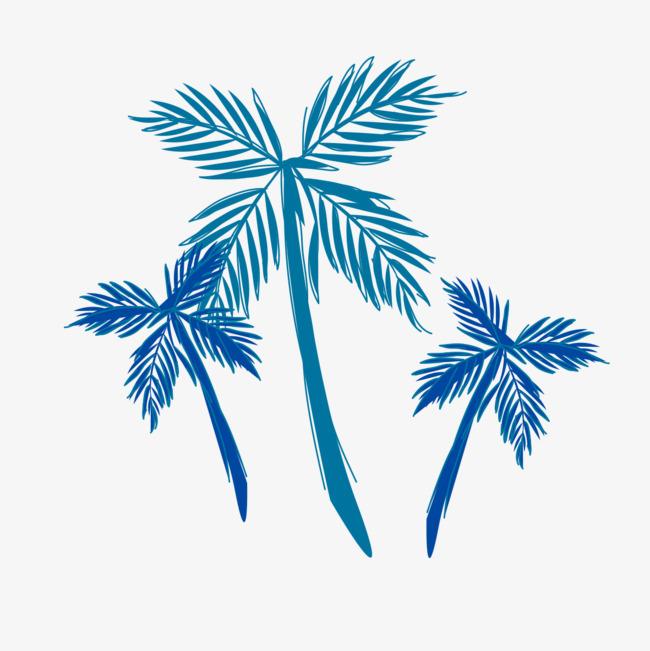 设计 矢量 矢量图 树 素材 棕榈树 650_651图片