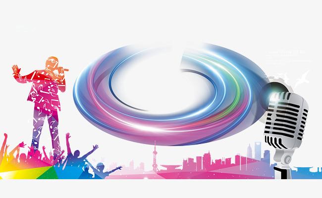 彩色十佳歌手大赛海报素材图片免费下载 高清装饰图案psd 千库网 图