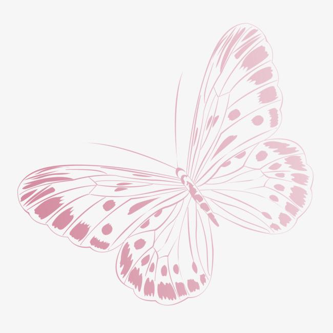 手绘简易蝴蝶