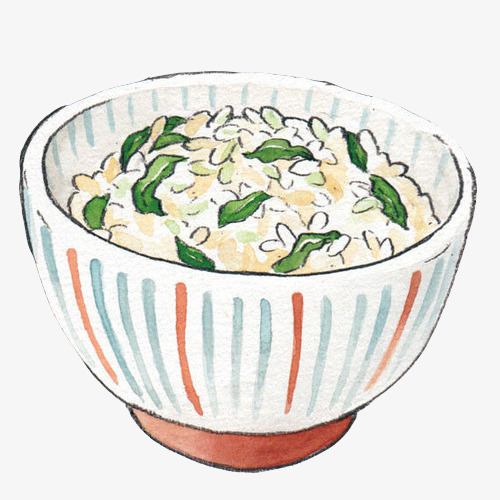豆子米饭手绘画图片素材图片免费下载_高清卡通手绘图片