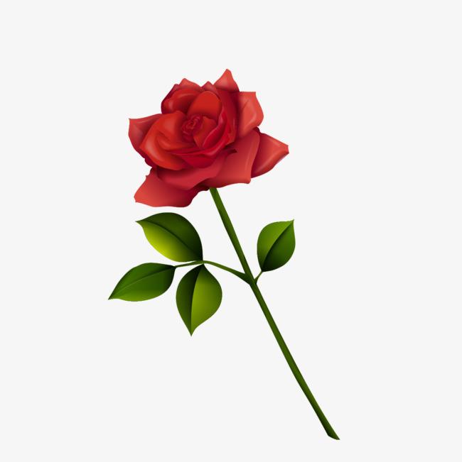 本次深红玫瑰花素材作品为设计师创作,格式为png,编号为 17748833