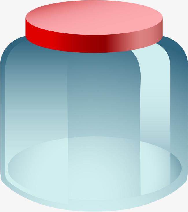 矢量手绘玻璃瓶子