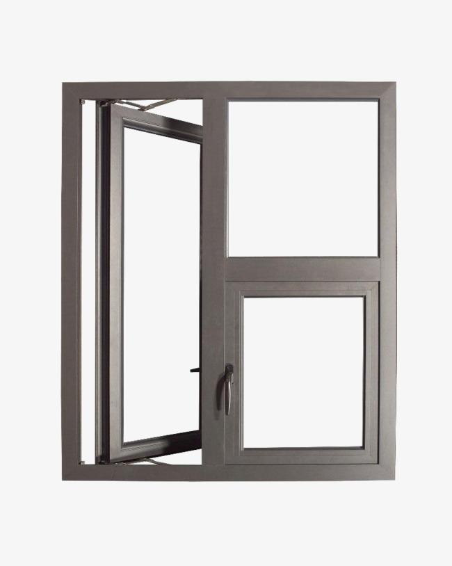 玻璃窗手绘素材