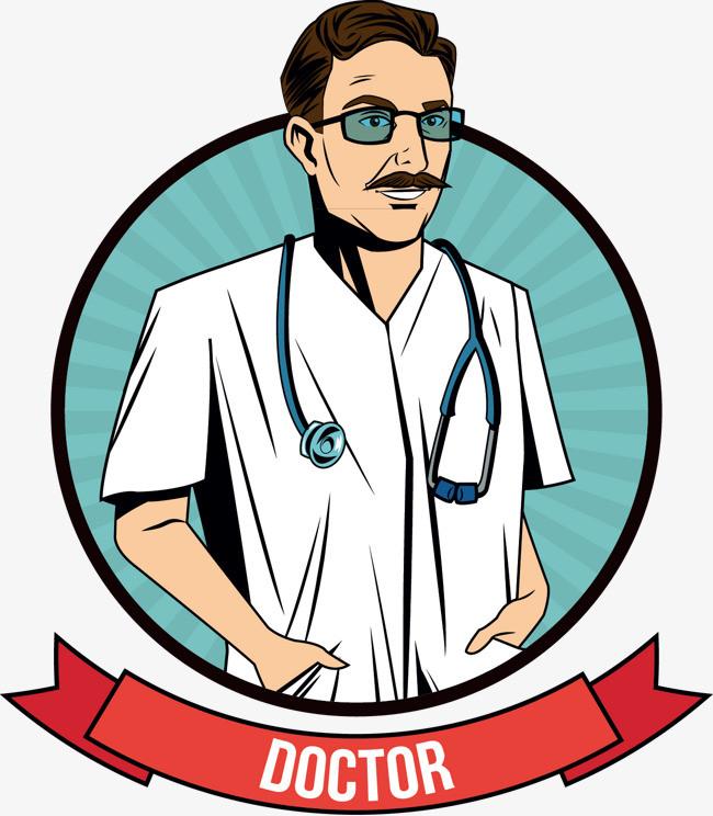 矢量卡通医生图片