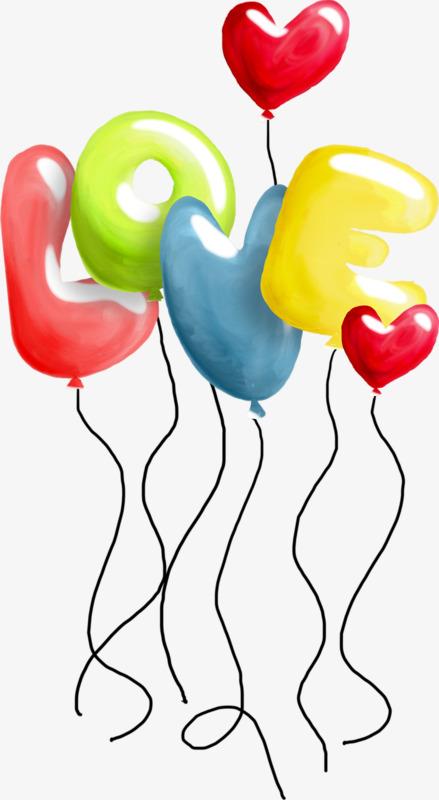 love爱心创意气球