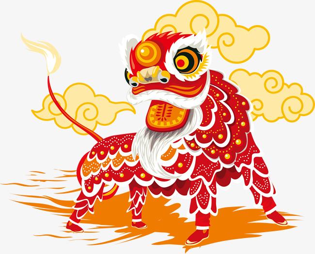 手绘水彩狮子素材图片免费下载_高清png_千库网图片