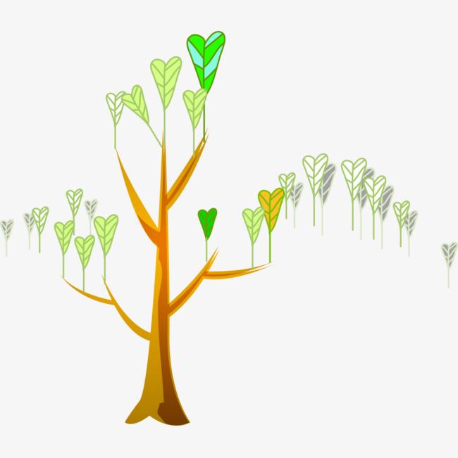 边框装饰_扇形树叶装饰png素材-90设计