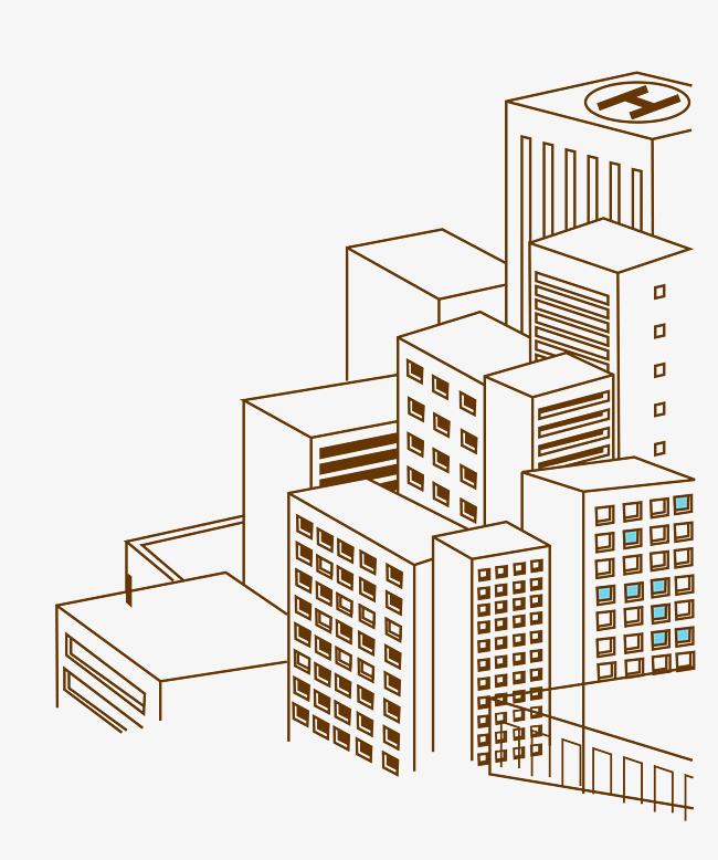 图片 图标矢量 > 【png】 矢量楼房  分类:手绘动漫 类目:其他 格式