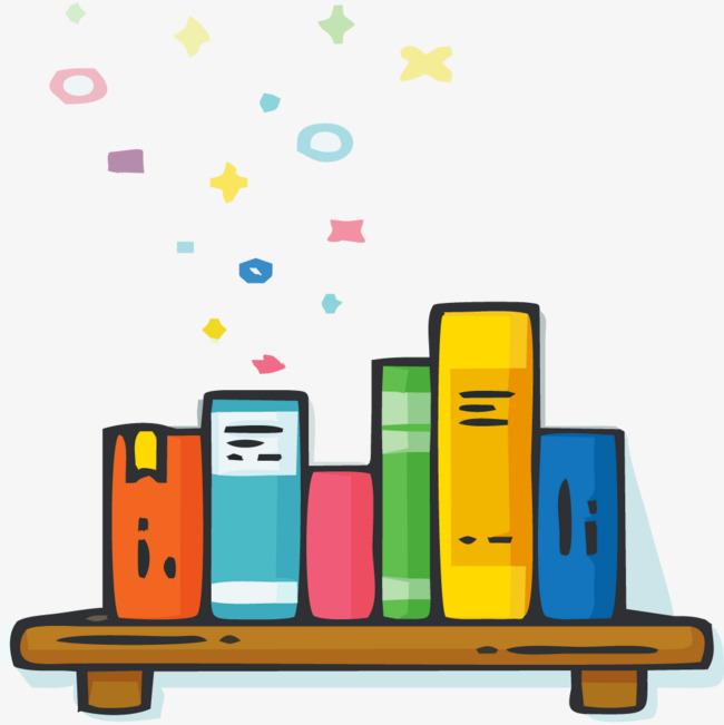 彩色书本png素材-90设计