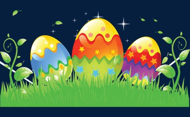卡通手绘彩蛋