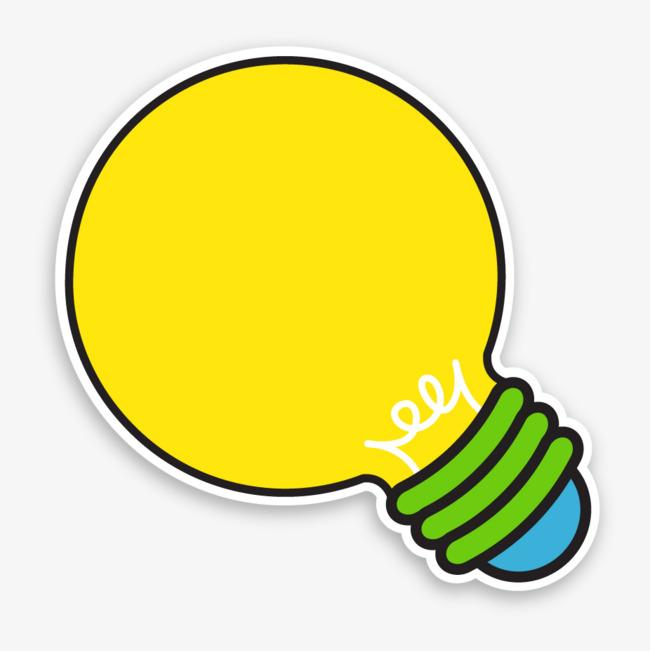 ppt创意灯泡png素材-90设计