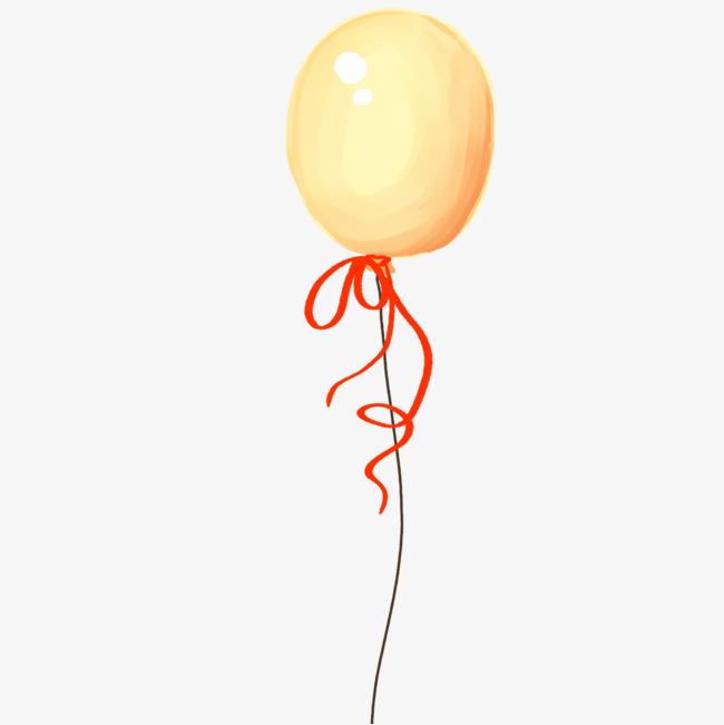 简单手绘气球