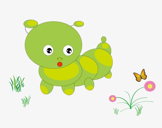 可爱的小虫子