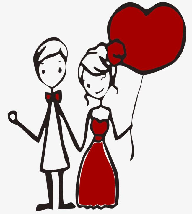 图片 > 【png】 恩爱情侣卡通  分类:手绘动漫 类目:其他 格式:png