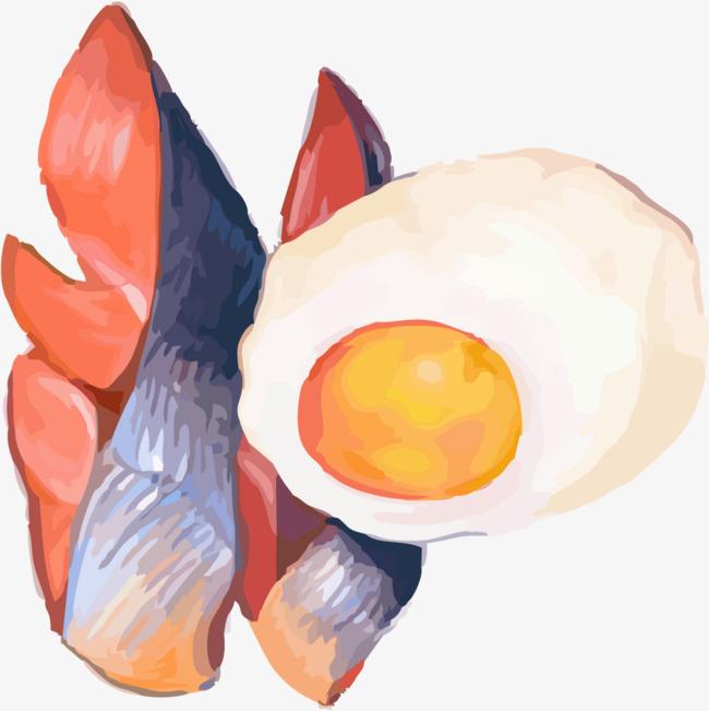 手绘鸡蛋素材
