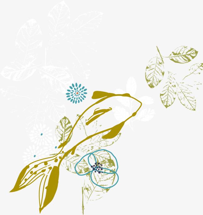 手绘鱼儿矢量背景底纹装饰素材