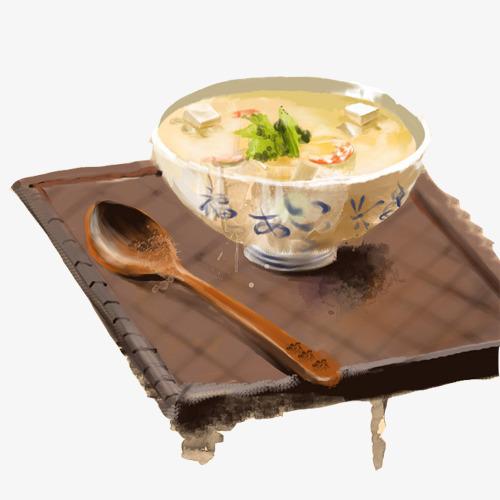 豆腐清汤手绘画图片素材图片免费下载 高清卡通手绘psd 千库网 图片编号6868630