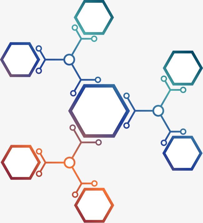 六边形和分子结构