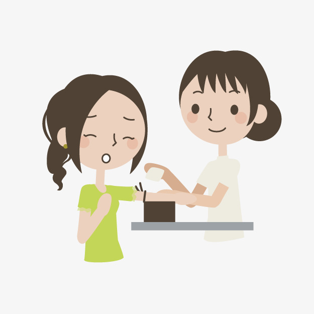 卡通抽血检查素材图片免费下载_高清装饰图案png_千库网(图片编号6875634)