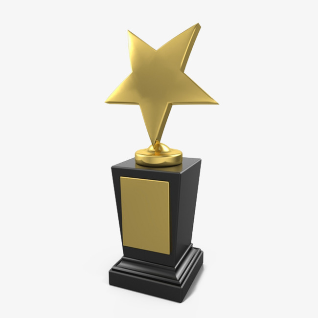 明星奖奖杯png素材-90设计