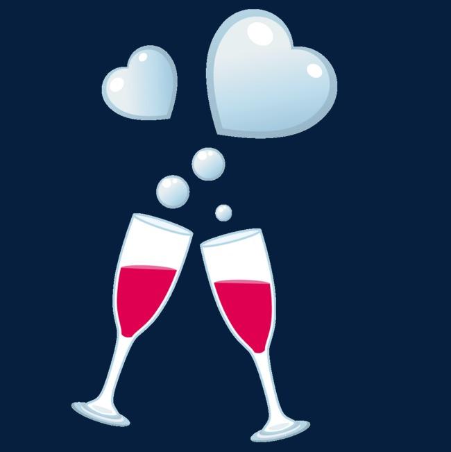 图片 > 【png】 创意情人节酒杯  分类:手绘动漫 类目:其他 格式:png